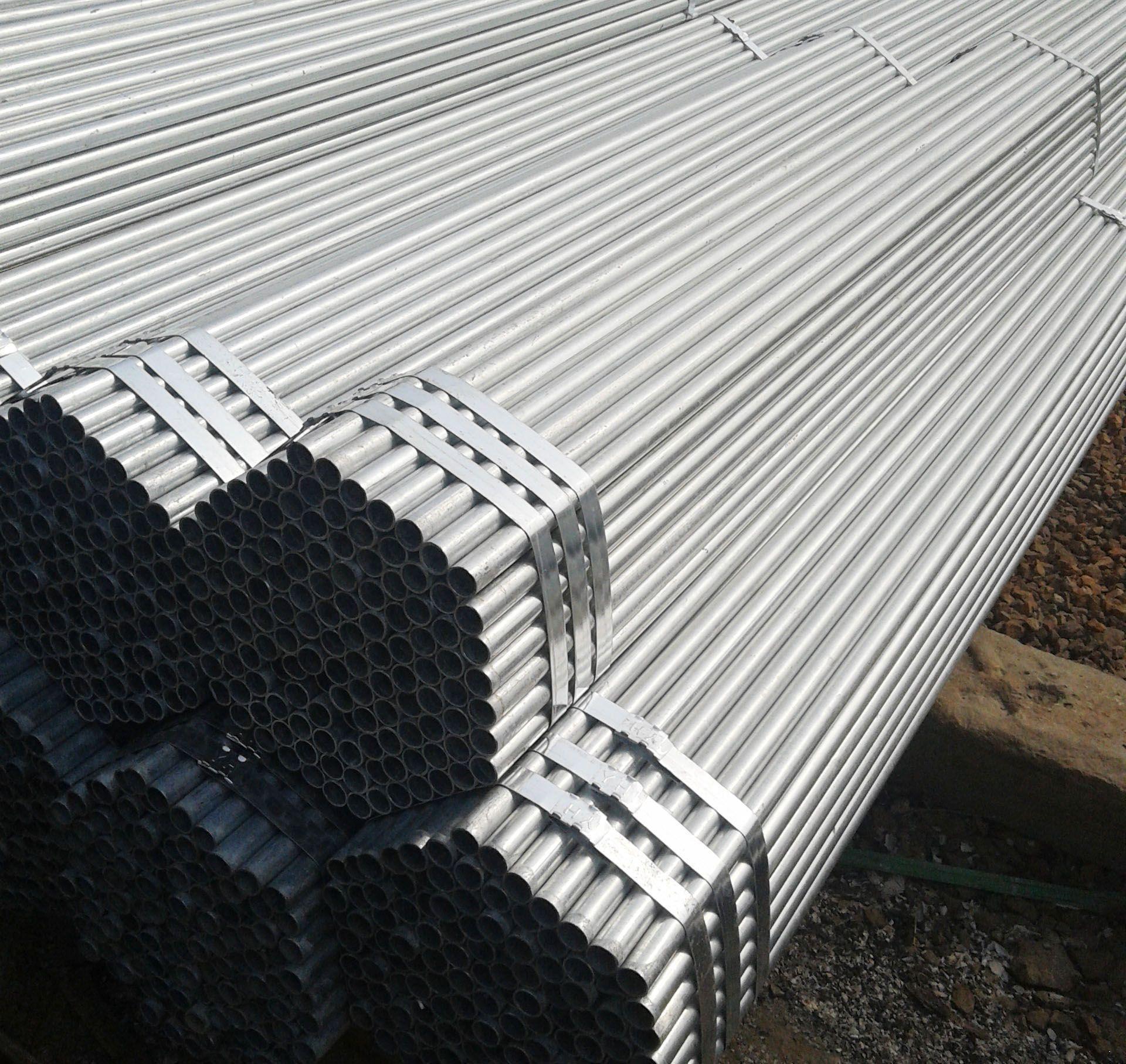 黑河大棚镀锌焊管